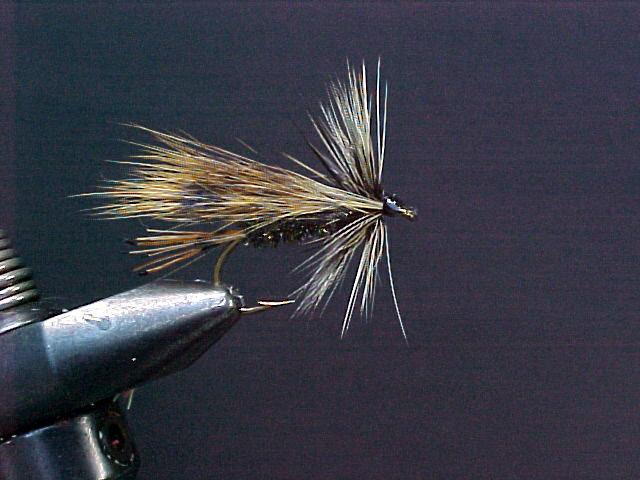 Badger Hackle Dry