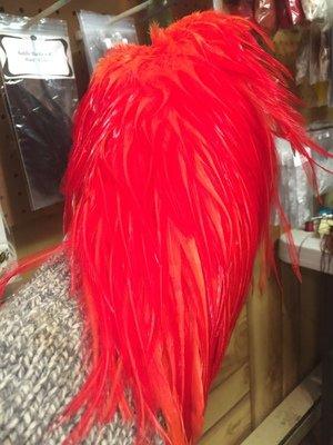 Metz Magnum #1  Cock Saddle Dyed Hot Orange