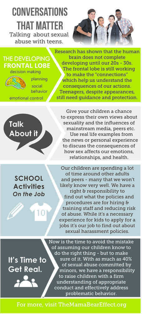 Teens - Talking to Teens about Sexual Abuse