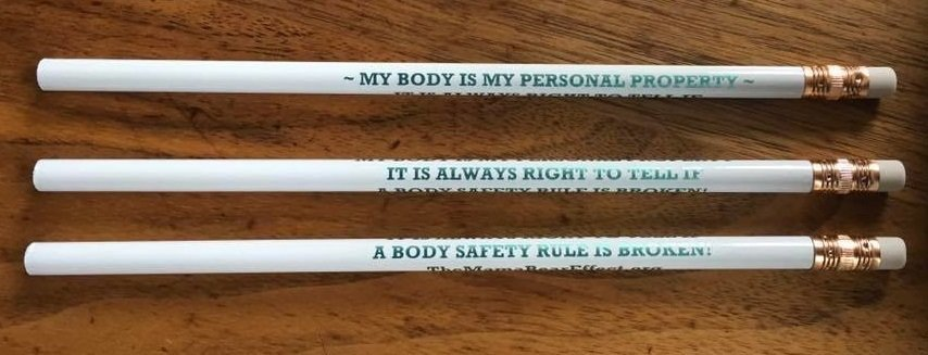 NEW! My Body is My Personal Property Pencils