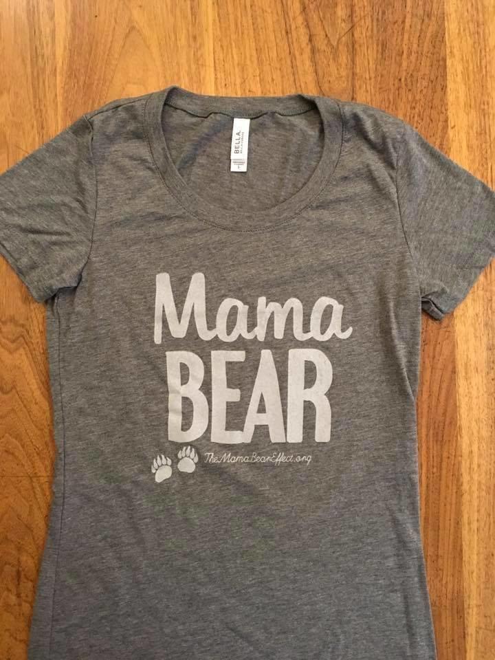 Mama Bear Gray Shirt- New!