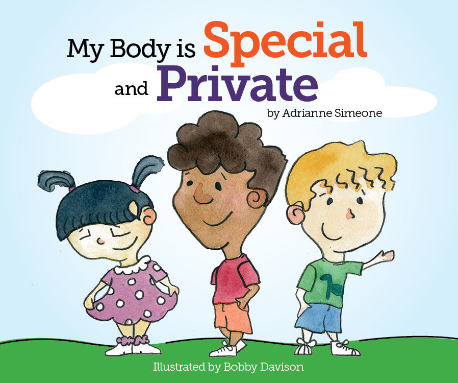 """""""My Body is Special and Private"""" Board Book"""