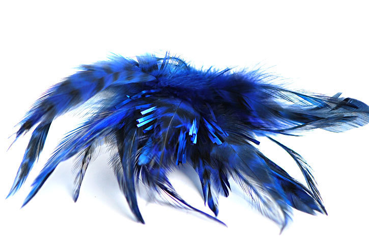 """Ersatzkopf """"Blau-Glitter"""""""