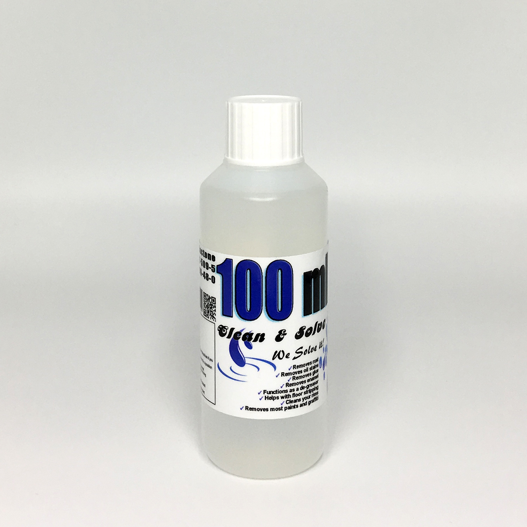 Industrial Cleaner 100 ml Technical Grade 00016 HS Code 29322020