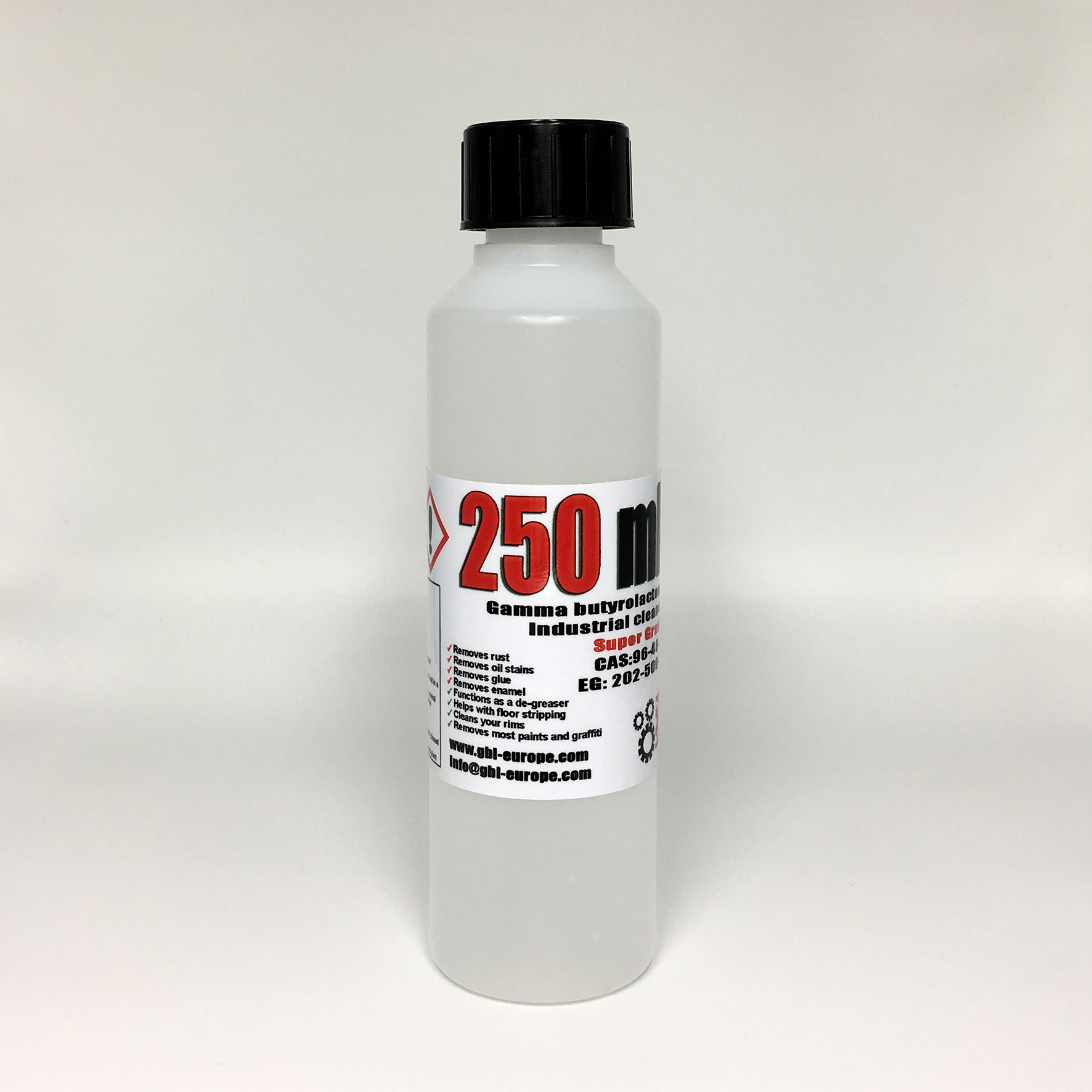 Industrial Cleaner 250 ml Super Grade Quality 00180 HS Code 29322020