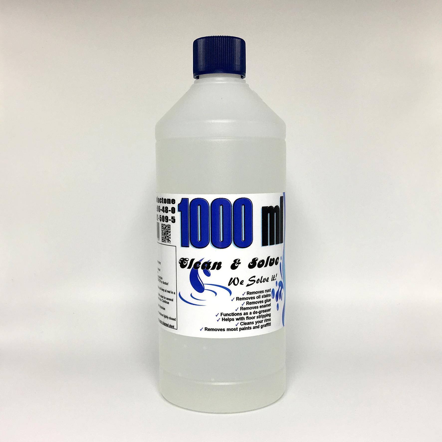 Industrial Cleaner 1.000 ml Technical Grade 00008 HS Code 29322020