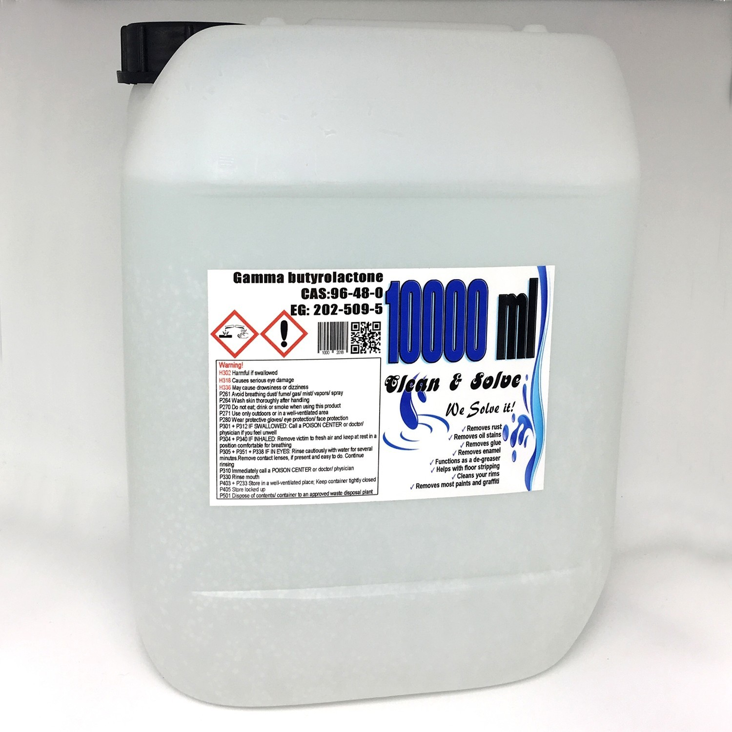 Multi Remover 10.000 ml Technical Grade Canister 00029 HS Code 29322020