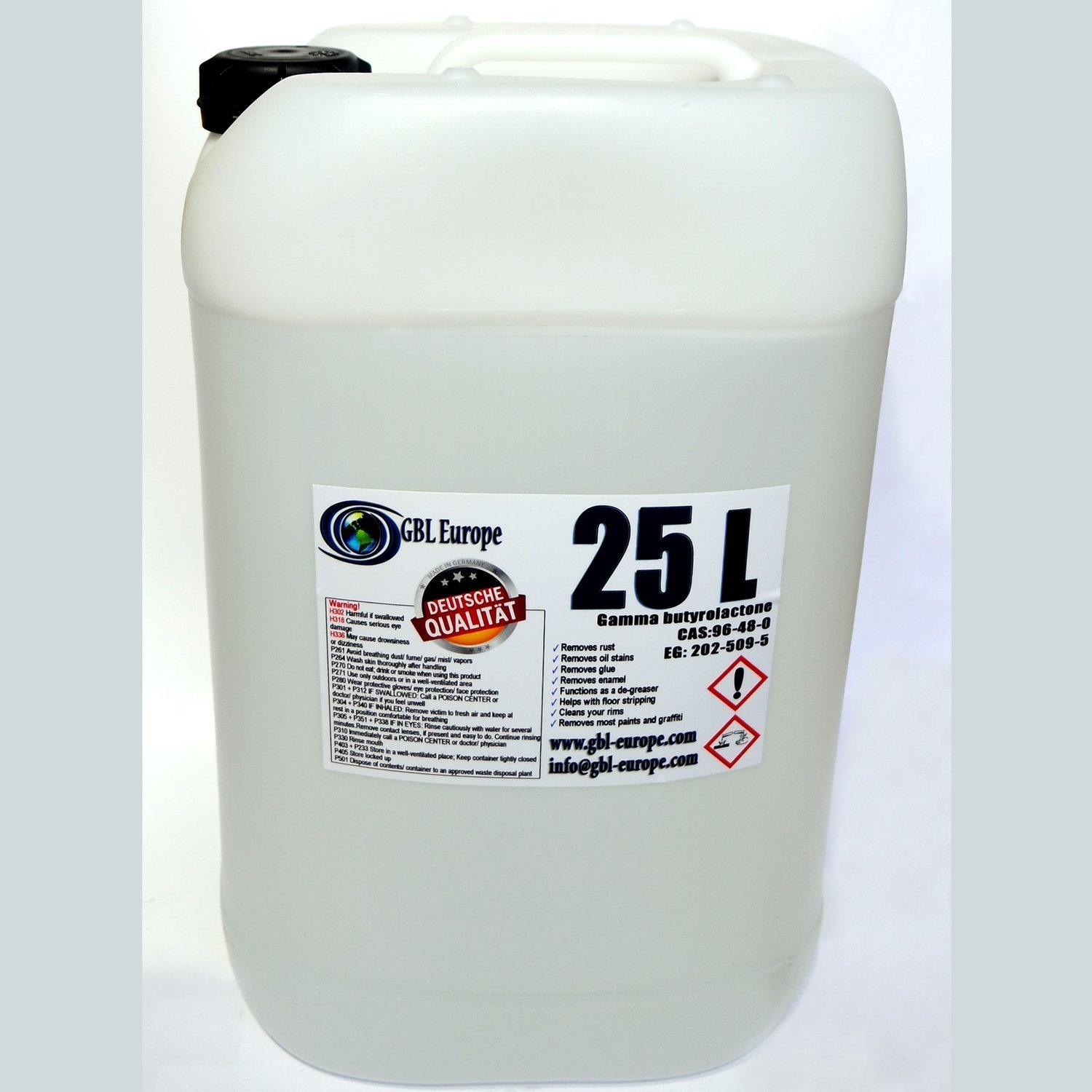 Multi Remover 25.000 ml Pharma Grade German Quality Canister 00024 HS Code 29322020