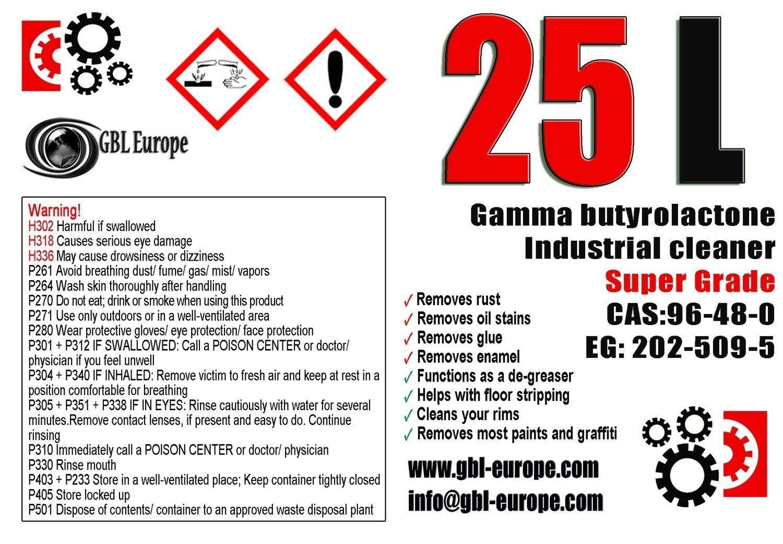 Multi Remover 25.000 ml Super Grade Canister 000225 HS Code 29322020
