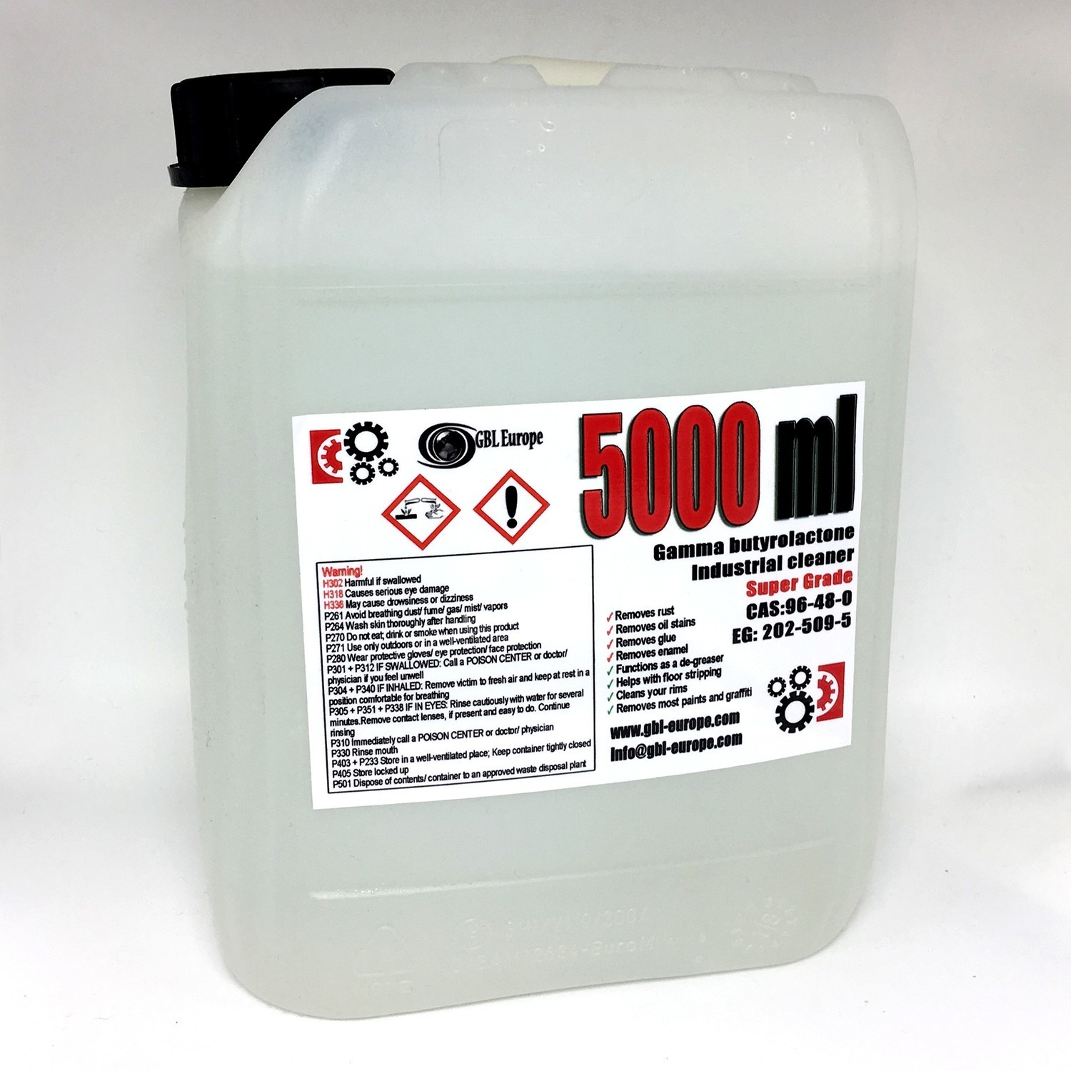 Multi Remover 5.000 ml Super Grade Quality Canister 002201 HS Code 29322020