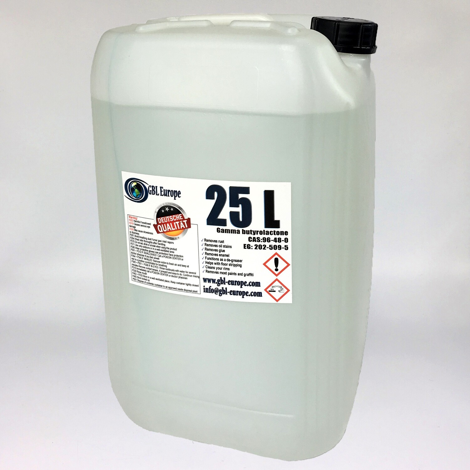 Multi Remover 25.000 ml Pharma Grade German Quality Canister + with every order 1x 500 ml technical grade Free!