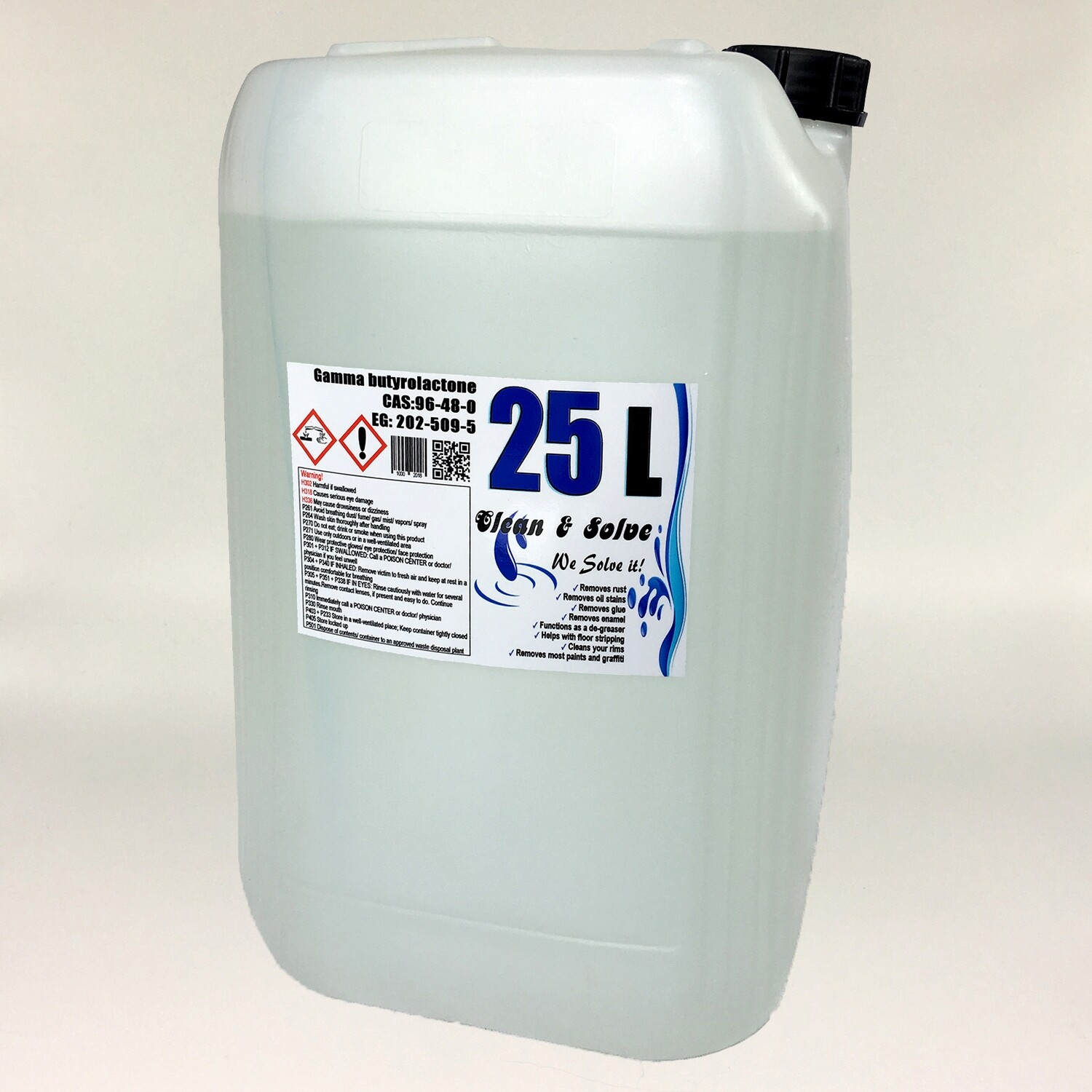 Multi Remover 25.000 ml Technical Grade Canister + with every order 1x 500 ml technical grade Free!