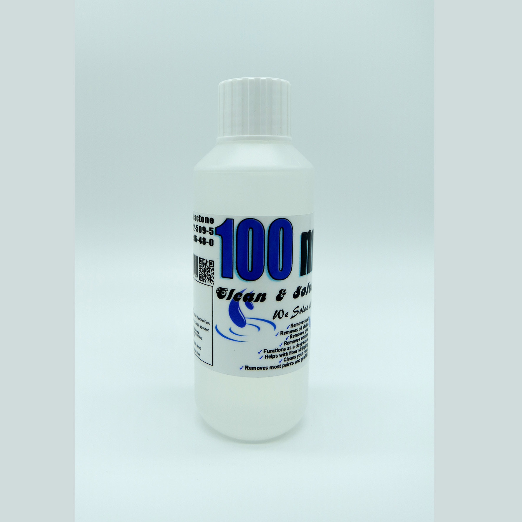 Industrial Cleaner 100 ml Technical Grade 00016 HS Code 29322020