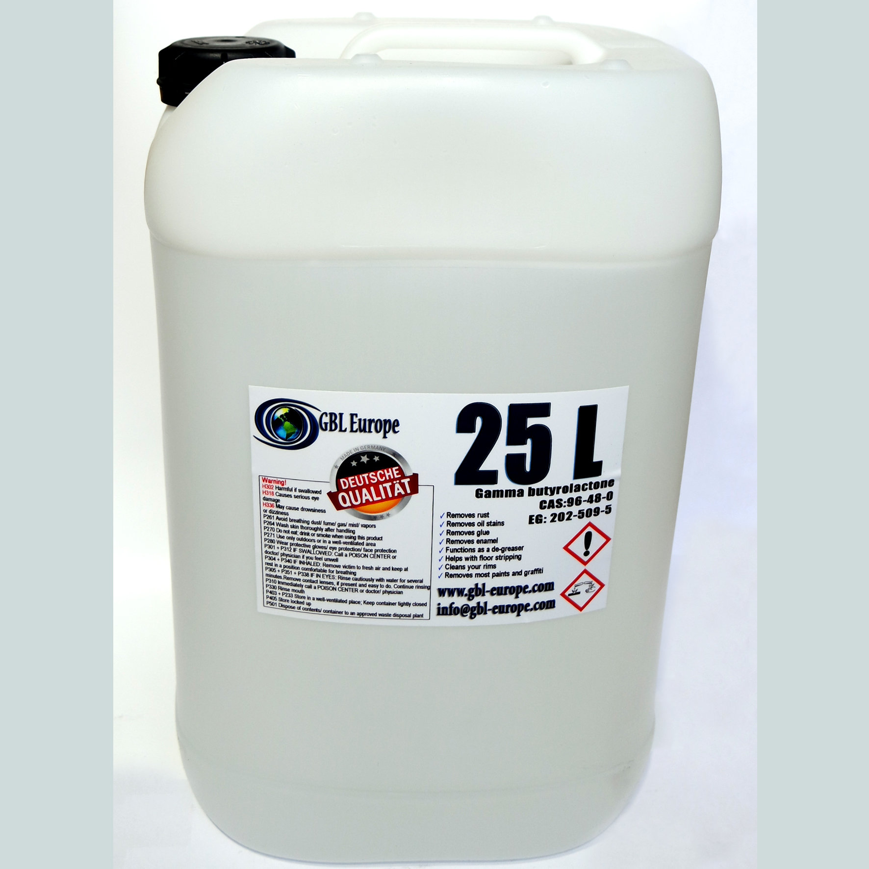 Industrial Cleaner 25.000 ml Pharma Grade German Quality Canister 00024 HS Code 29322020