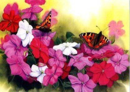 Busy Lizzies and Butterflies