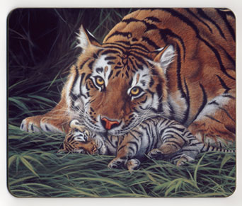 A Tiger's Care. Placemat