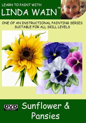 Sunflower & Pansies