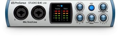 Presonus Studio 24: USB-C recording solution.