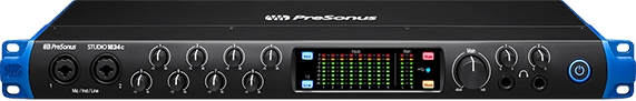 Presonus Studio 1824c 18x20, 192 kHz, USB-C Audio Interface
