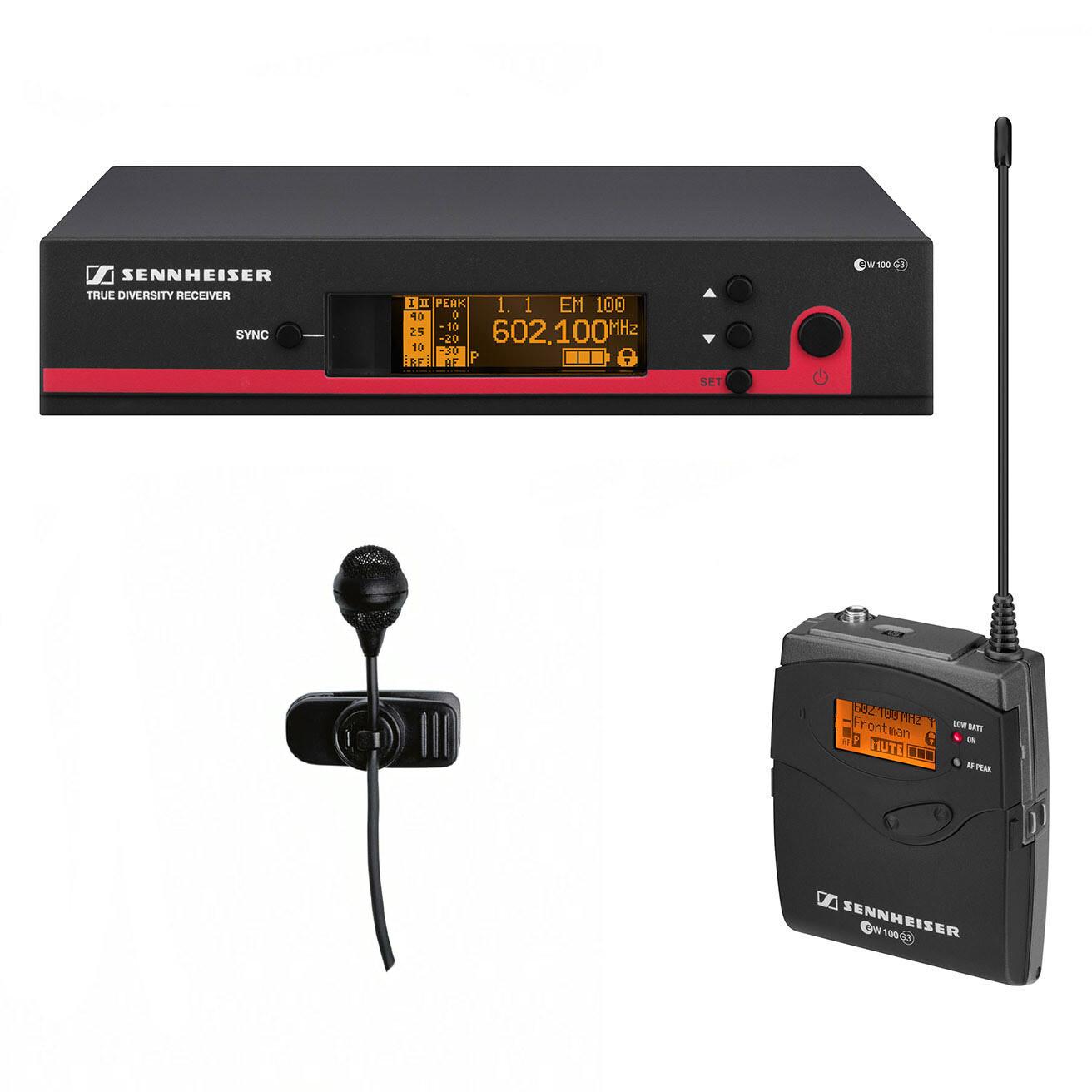 #最後一件 #全新 #2年原廠保養 Sennheiser eW 122 G3 wireless clip mic system