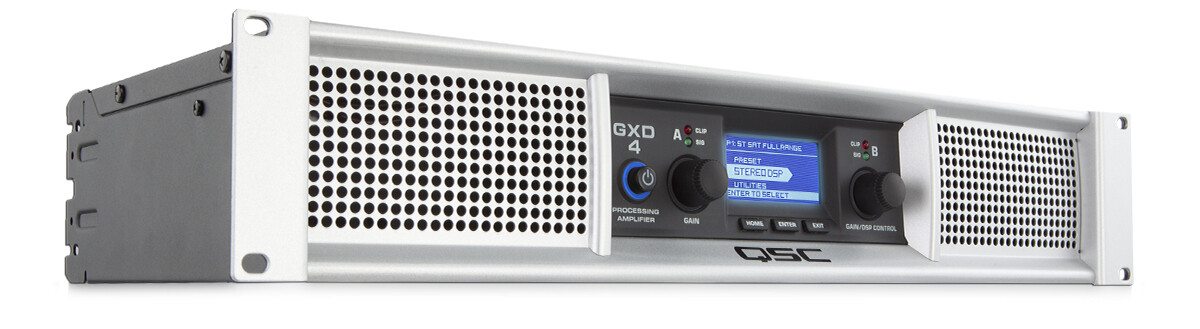 QSC GXD4 Professional Power Amplifiers