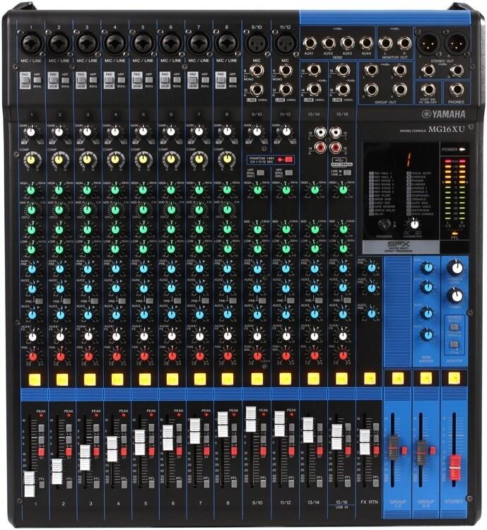 Yamaha MG16XU  16-Channel Mixing Console
