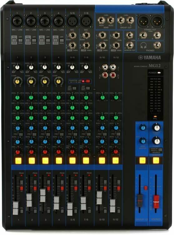 Yamaha MG12 (12-channel mixer)