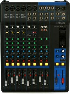Yamaha MG12 (12-channel mixer)