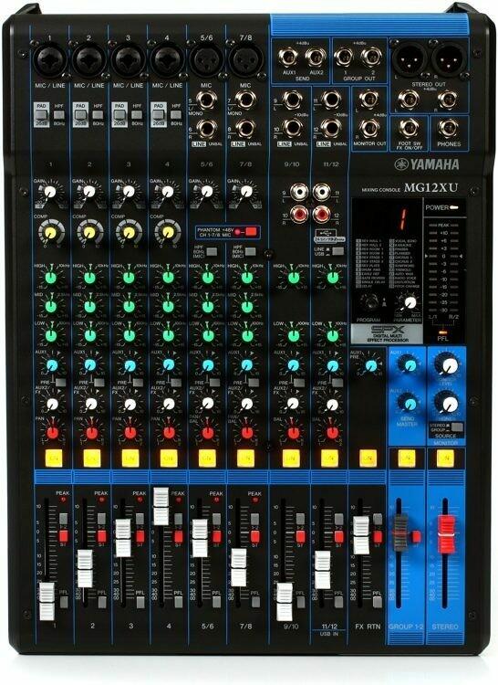 Yamaha MG12XU 12-Channel Mixer
