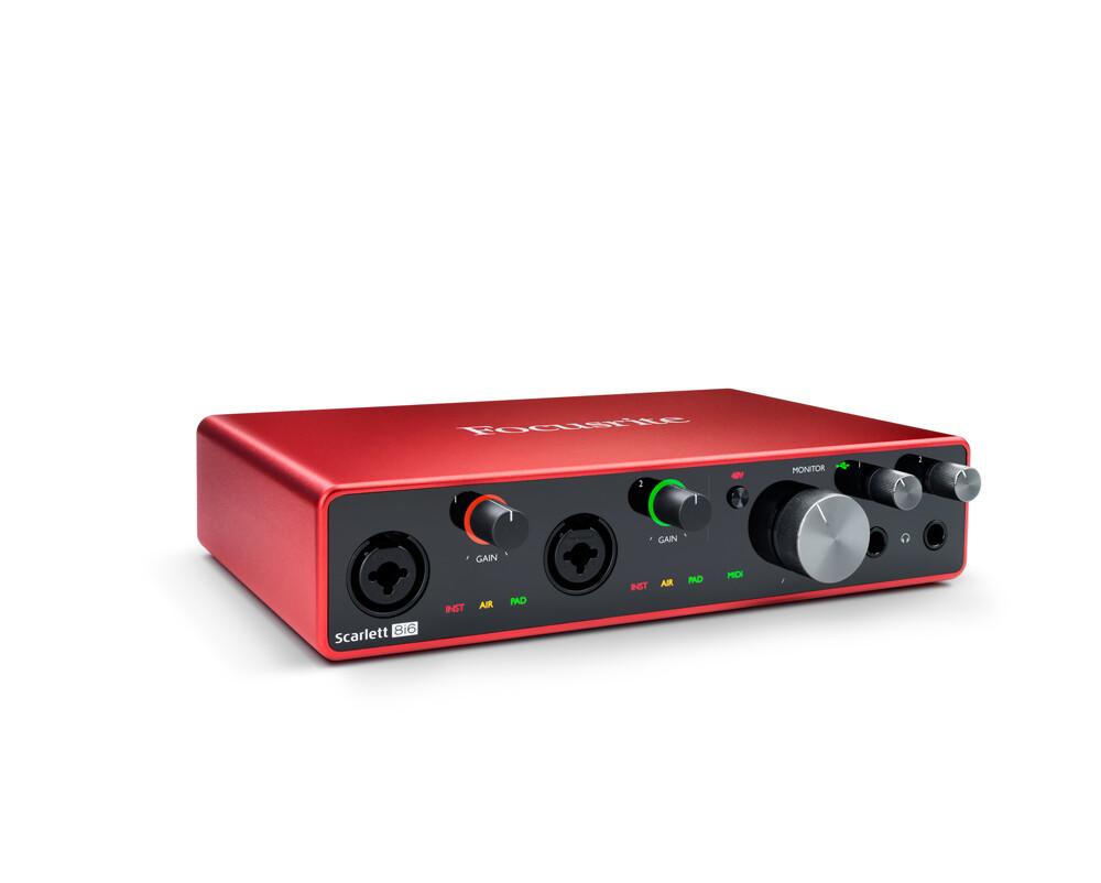Focusrite Scarlett 8i6 usb audio interface (3rd Generation)