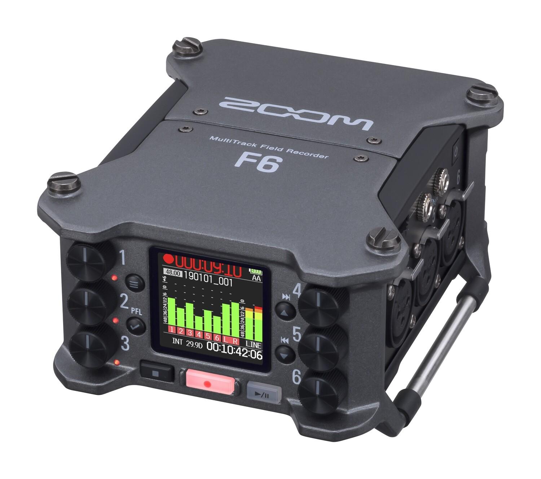 Zoom F6 field recorder