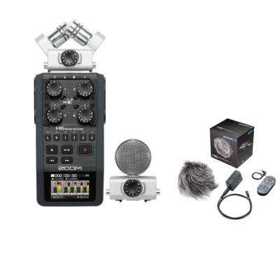 【1 月優惠套裝】Zoom H6 手提錄音器 + APH-6 配件