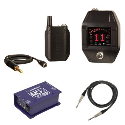 【4月優惠】Shure GLXD16  無綫結他系統套裝 (連: Samson MD1 di box + Canare 1.5米 cable)