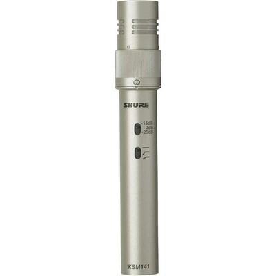 【2月優惠】Shure KSM141 Dual Pattern Instrument microphone , 連 3米 Canare cable