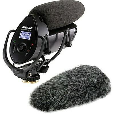 【3月優惠】Shure VP83F 機頂拍攝咪(內置錄音,LCD 顯示) 連 Rycote 055447 Windjammer