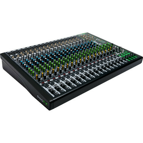 Mackie ProFX22v3 22-Channel mixing console with effects