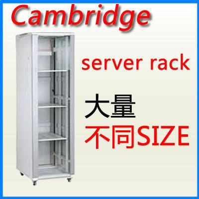 Cambridge server rack 37U 600 x 600 落地型 電腦機櫃 00485