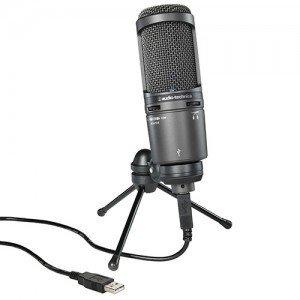 【2月優惠】Audio Technica AT2020USB+ (USB心形指向性咪高峰) 01585