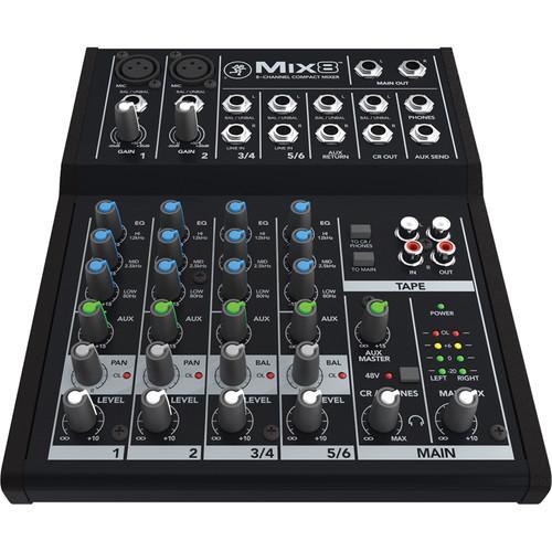 Mackie Mix8 mixer 00796
