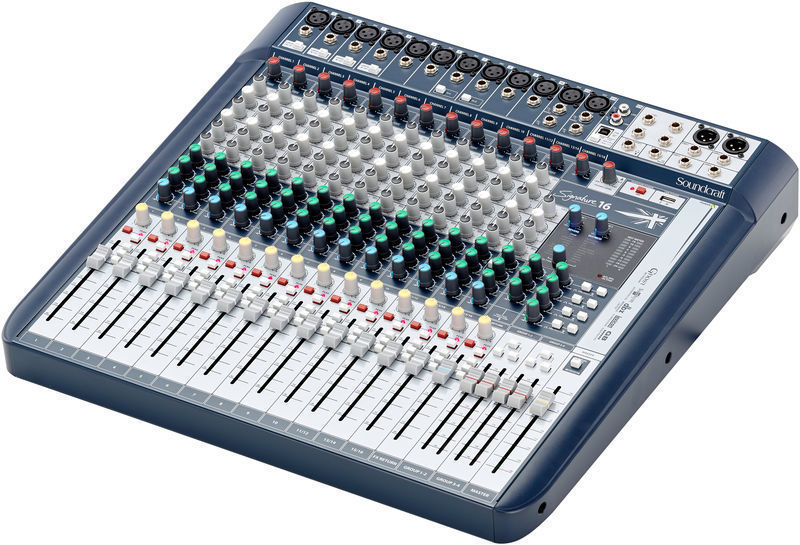 Soundcraft Signature 16 mixer 00818