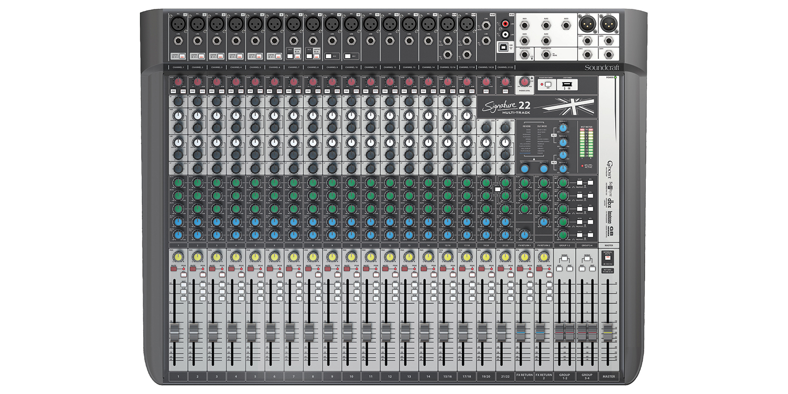 Soundcraft Signature 22 MTK mixer 00860