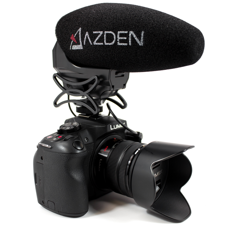 Azden SMX-30 (Stereo/Mono Switchable  Video Microphone) 00863