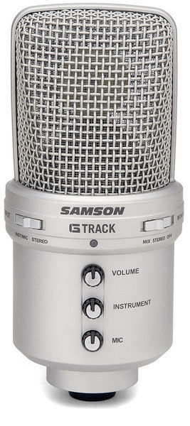 Samson G-Track USB recording microphone