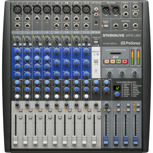 Presonus StudioLive® AR12 USB mixer