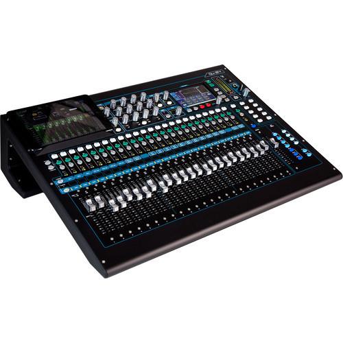 Allen & Heath Qu-24C 30-In/24-Out Digital Mixer (Chrome Edition) 01126