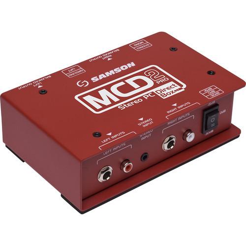 【12月優惠】Samson S-MAX MCD2 Pro 2-Channel Passive PC Direct Box