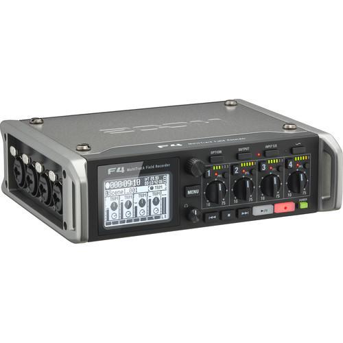 【12月優惠】Zoom F4 Multitrack Field Recorder