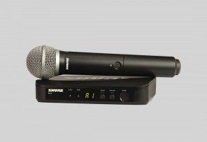 Shure BLX24/PG58 手持式無線系統 (wireless handheld microphone)