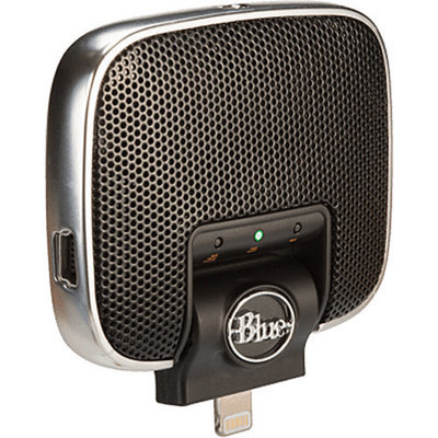 Blue Mikey Stereo Condenser Microphone for Lightning iOS