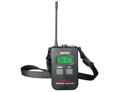 Mipro MTG-100T Digital Portable Transmitter